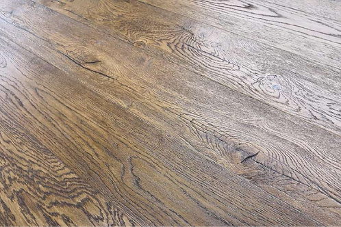 Antique Brown Oak Flooring 190mm x 14mm