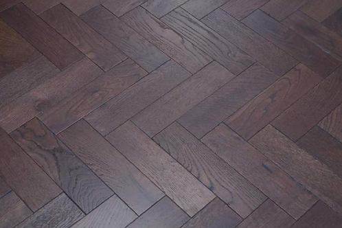 Herringbone Dark Lacquered 70mm x 300mm