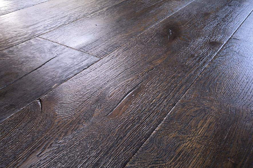 Antique Black Oak Flooring 220mm x 15mm