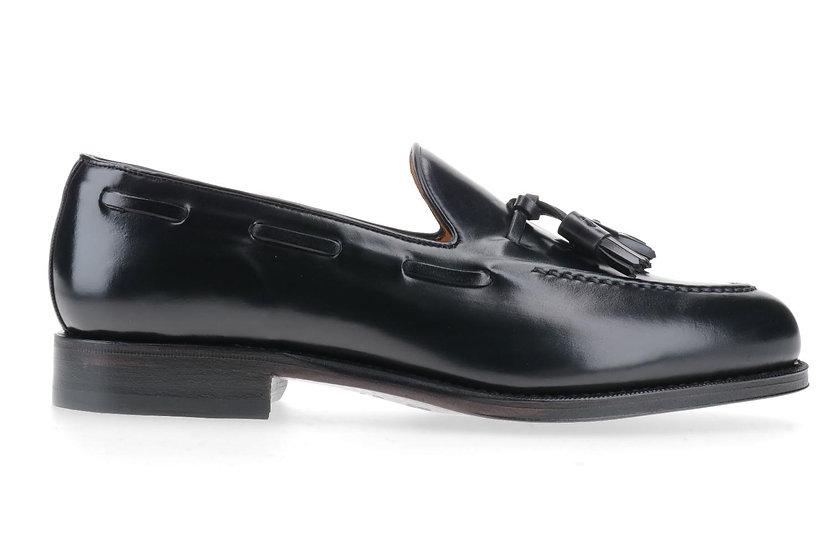 CORDOVAN Tassel-Loafer schwarz