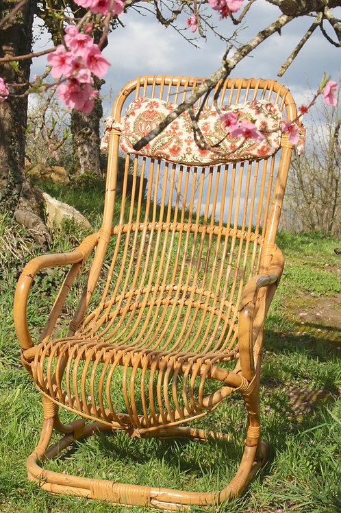 Rotan stoel