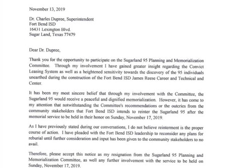 CLLP calls on FBISD to cancel Blessing Ceremony