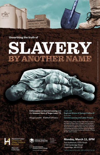 Reginald Moore & Samuel Collins III: 'Unearthing the Truth of Slavery By Another Name'