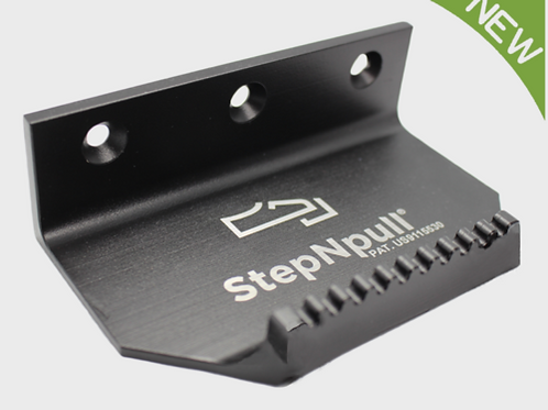 STEPNPULL® BLACK FINISH