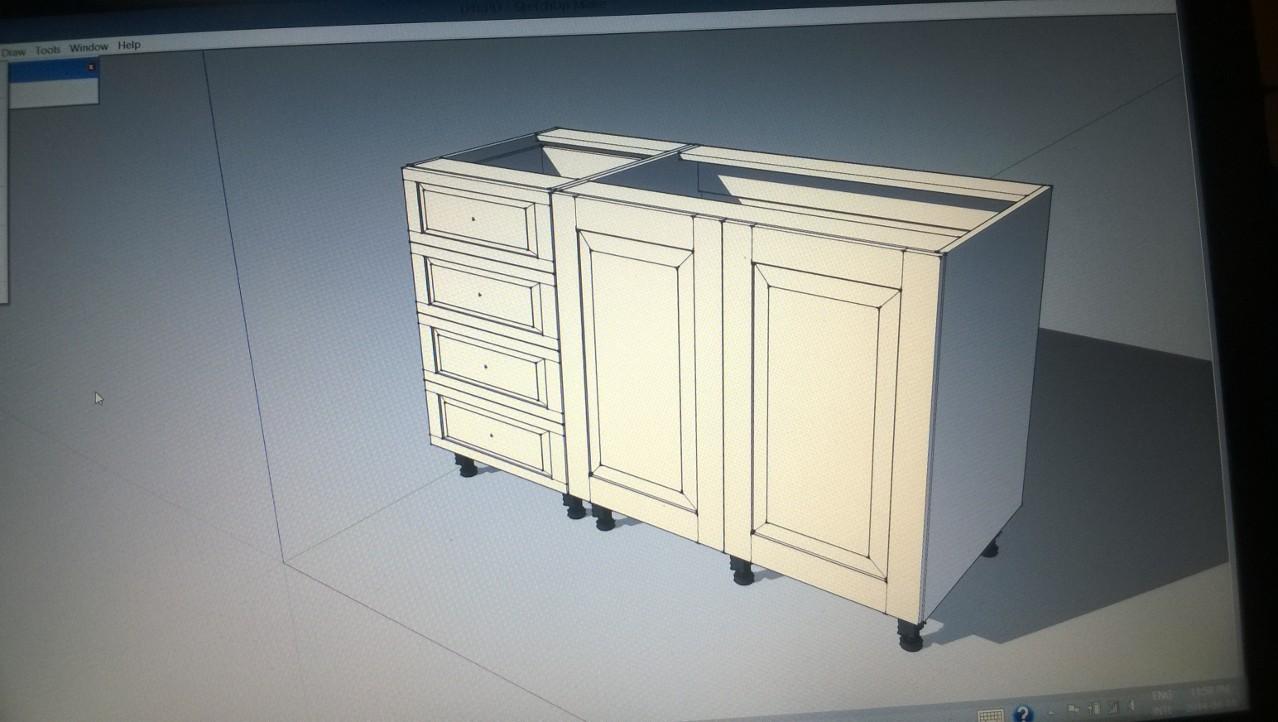Panel Doors Kitchen Unit