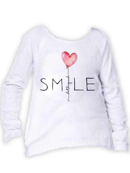 Girl's SMILE Long Sleeve