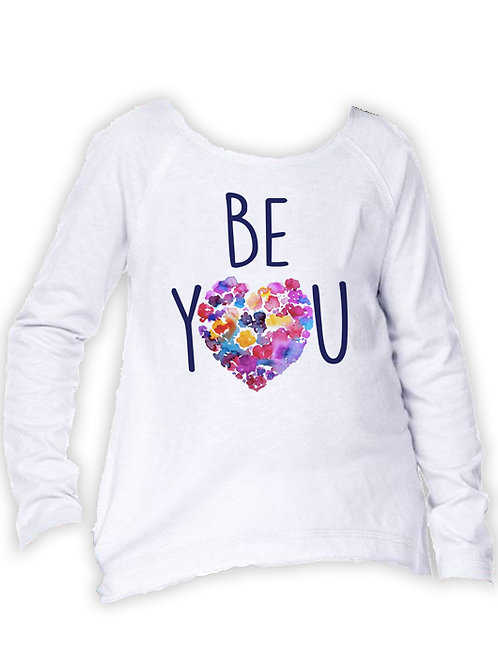 Girl's BE YOU Long Sleeve
