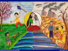 Student artwork by SUKRIT MEHTA