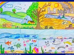 Student artwork by ARITRO MOITRA