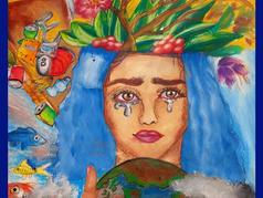 Student artwork by JAHNAVI PANDEY