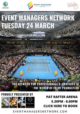 Event Managers Networking Event March 2020