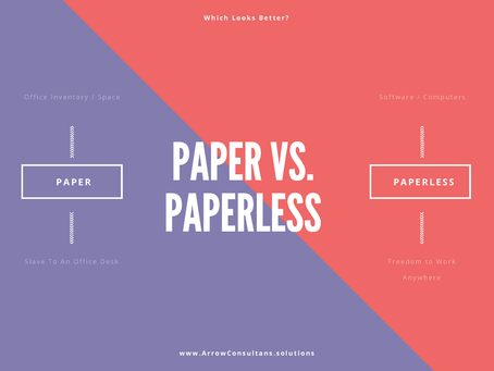 10 Steps to Go Paperless
