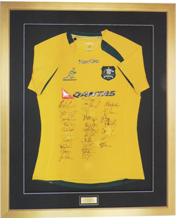 Framed_Australian_Rugby_Jersey