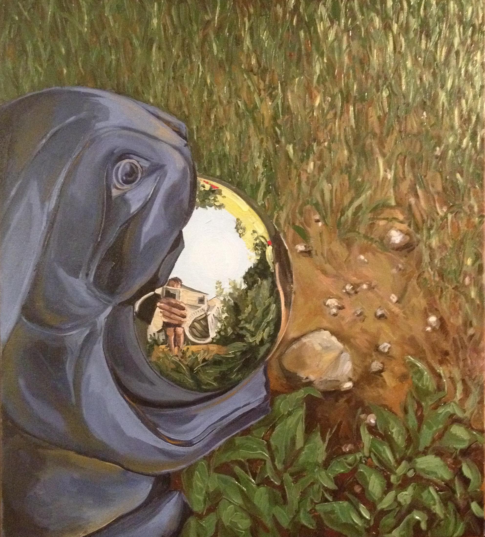 Garden Globe (Self Portrait)
