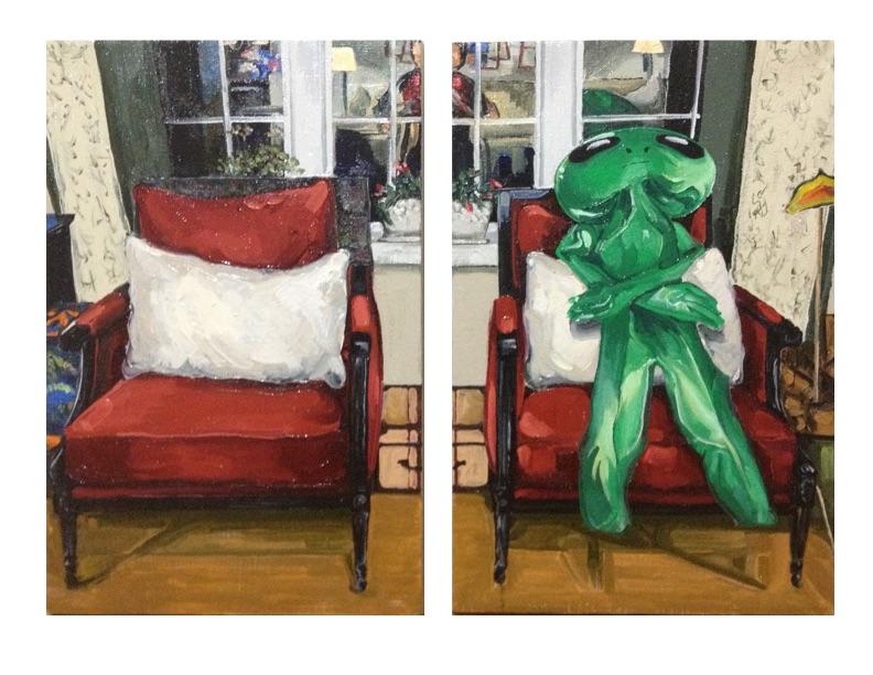 Deflated (Self Portrait)
