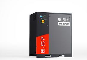 Compresor de la línea ER, con rotores de grandes dimensiones y alto rendimiento, diseño simple, acoplamiento directo, componentes de alta calidad, motores y rotores de alta eficiencia, equipados con variador de frecuencia