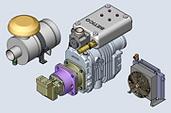 Compresor de la serie RB-J montado en cisterna y/o en la cabeza tractora