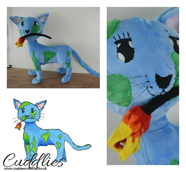 custom made cat sofie.