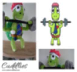 Turtle soft toy, tortoise plush toy, hand made mascot,