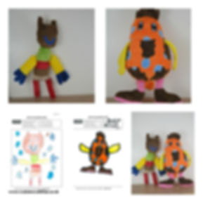 made to order school mascots, han made school mascots