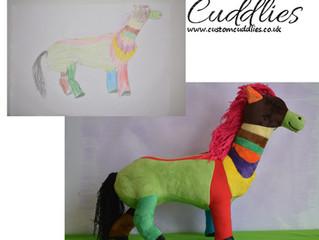 Horse drawn by Gabriella