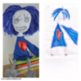toy made out of drawing