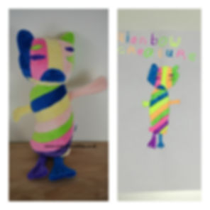 doodle your toy, toy made from rawing