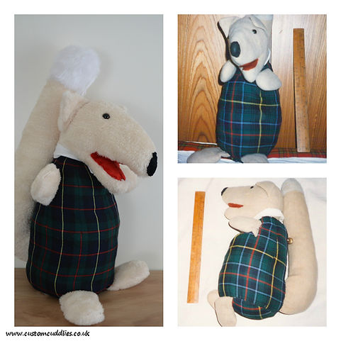 soft toy remake, old softie to new,
