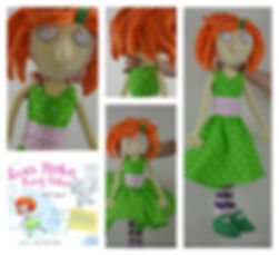 Rosie Harker Nosay Parker, Mary Evans, soft toy