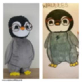 Drawings into Custom Stuffed Animals