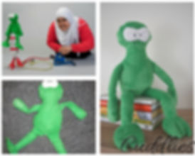 Since museum London frog, frog soft toy, kermit plush,