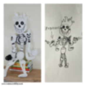 toy from drawing
