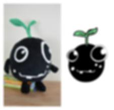 hand made mascot, Cracher macot. soft toy.