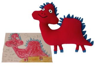 Stefanosaurus by Stefan age 5