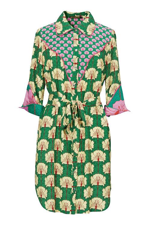Cowboy-Chic Shirt Dress