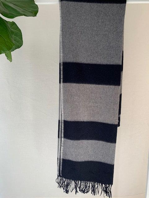 Bi-color Cashmere Blanket