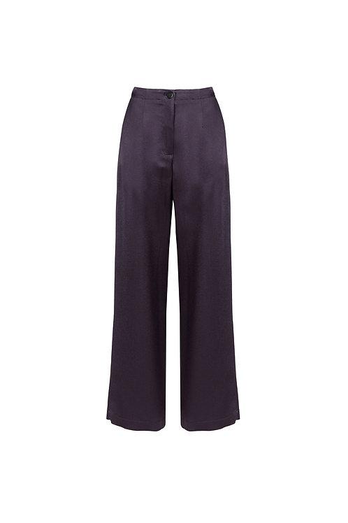 Satin  wide leg pants