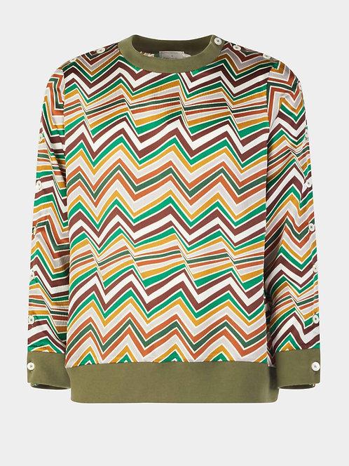 Silk Crewneck Sweater