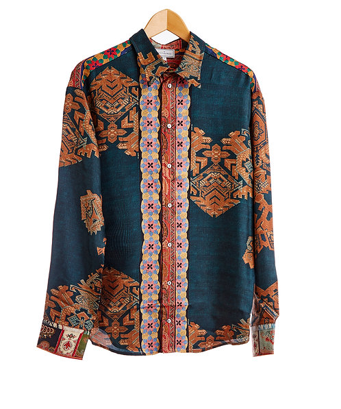 ALOE/S-CML10643 - Silk Shirt