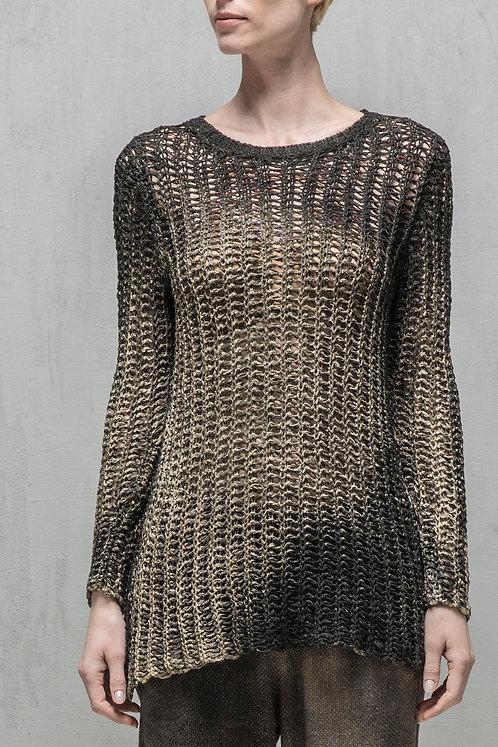 Laminated sweater