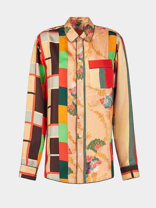 Long Sleeve Pajama Shirt