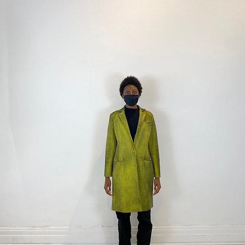 Slim fit coat