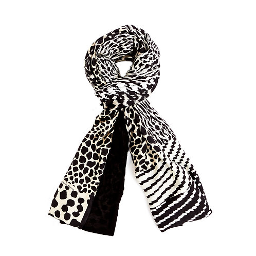 ALOESTA  -065X190D - Double Scarf