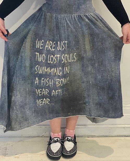 Cashmere Silk Skirt