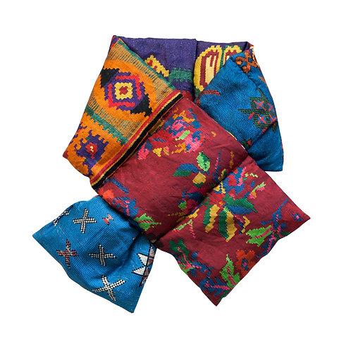 ALOEUW/SW-030X160IP - Aztec stuffed scarf