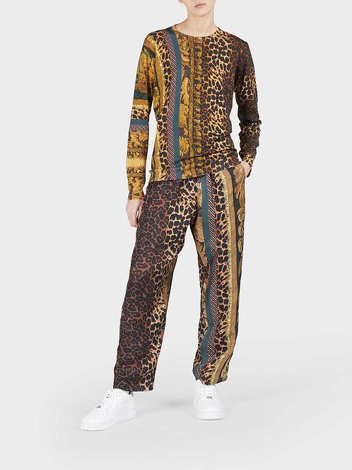 Straight Pyjama Pants With String