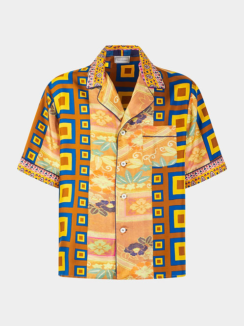 Pajama Short Sleeve Shirt