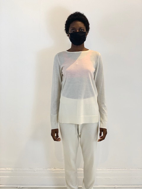 Full Sleeve Cashmere Top