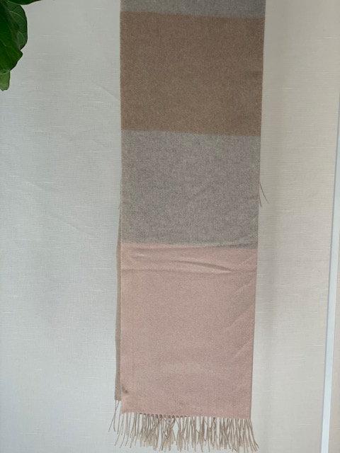 Tri-color Cashmere Blanket