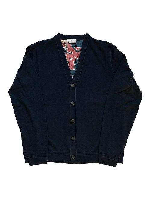 CARDIALO-PBL001 - Wool and silk cardigan